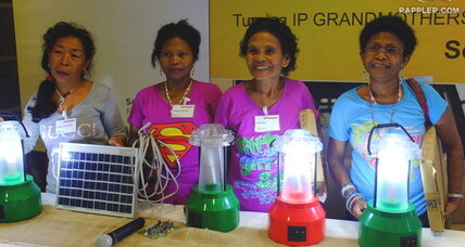 Why four grandmothers are champions of solar power in the Philippines