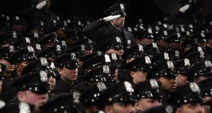 Why are NYPD changing Wikipedia entries on controversial police action?
