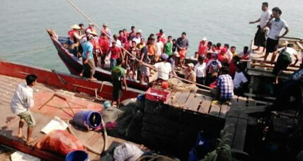 Myanmar ferry capsizes: Why is this tragedy so common? (+video)