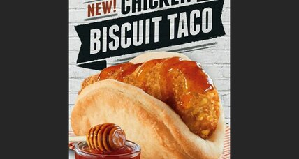 Taco Bell's biscuit taco is its new hope for breakfast (+video)
