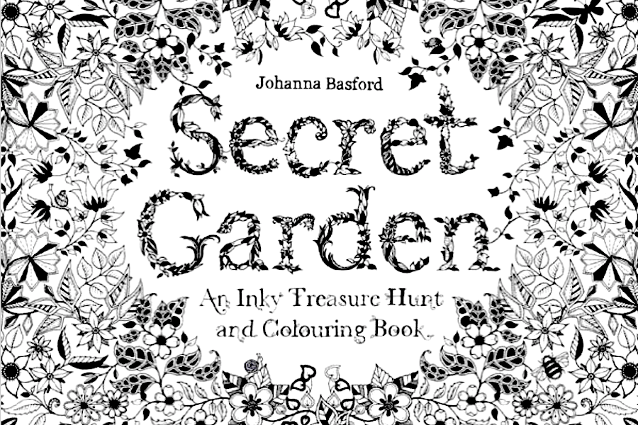 Why You Might Want To Buy A Coloring Book For Yourself Johanna Basfords Adult Secret Garden An Inky Treasure Hunt