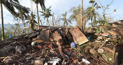 After Cyclone Pam, Vanuatu president says Pacific island nation must start anew (+video)