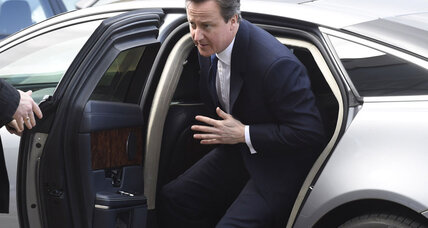 British PM Cameron says no to head-to-head televised debates