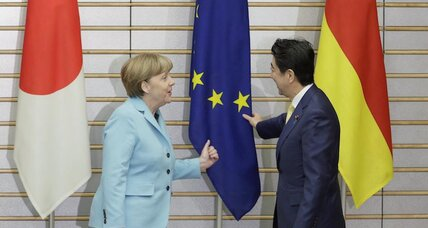Japan needs German courage, the EU doesn't need an army, responding to terrorism, rights for asylum seekers, why Boko Haram is spreading