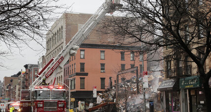 At least two missing after NYC building explosion