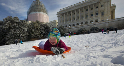 Sled-in to protest ban at US Capitol: Can't a D.C. kid have any fun?