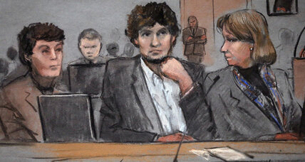 Two days into Boston Marathon bombing trial, defense already facing challenges (+video)