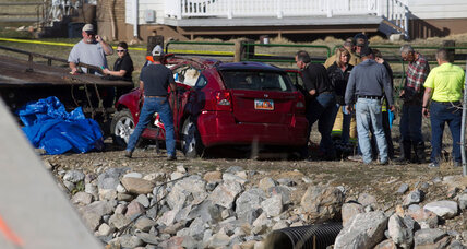 Utah toddler rescued from wrecked car after 14 hours in river (+video)