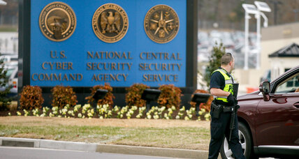 One dead, one injured after car rams gate at National Security Agency