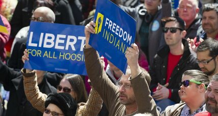 Indiana Gov.  Mike Pence scrambles to 'clarify' new religious freedom law