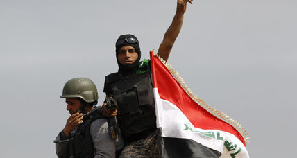 Iraqi troops, militia recapture town north of Tikrit from ISIS, mayor says