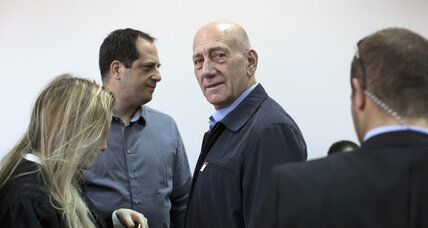 Former Israeli PM Olmert convicted in corruption case