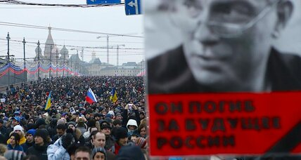 Why Russians march: to replace 'campaigns of hate'