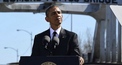 Obama: Selma a place where the nation's destiny has been decided