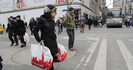 US retail sales fall 0.6 percent as winter worries linger