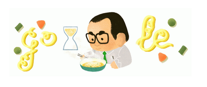 Momofuku Ando: Google doodle honors creator of instant noodles (+video)