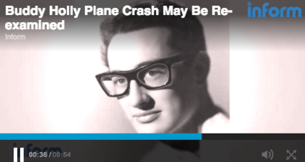 Buddy Holly plane crash may be reopened