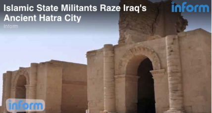 ISIS bulldozes ancient city of Hatra (+video)