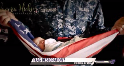 Photo of US flag sparks controversy. How are American views of patriotism changing?