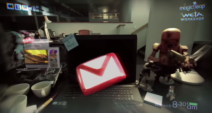 Magic Leap demo promises to transform offices into augmented-reality games