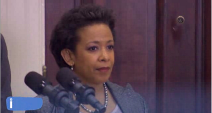 Obama: GOP is holding Loretta Lynch 'hostage' in human trafficking dispute (+video)