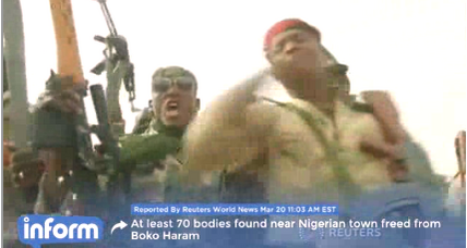 Boko Haram execution site found in Nigerian town (+video)