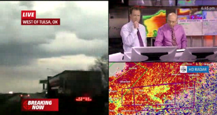 Tornadoes touch down in Arkansas and Oklahoma