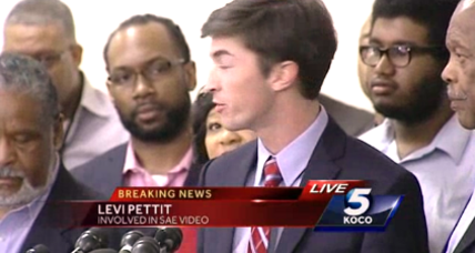 Former University of Oklahoma SAE brother apologizes to community