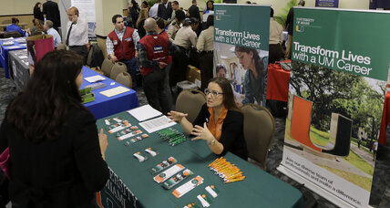 US jobless claims fall to five-week low