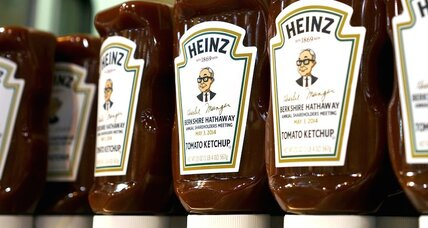Heinz and Kraft merge: why America's biggest food brands are shrinking (+video)