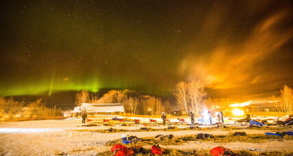 Where can you see the Northern Lights in the US tonight?