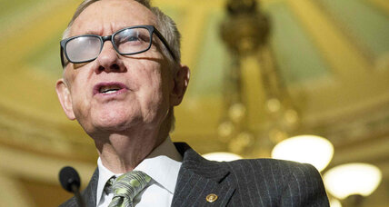 Harry Reid to retire in 2016: 'perfect leader for a polarized Congress' (+video)