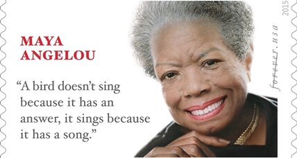 The Maya Angelou stamp: Did Postal Service pick the right quote?