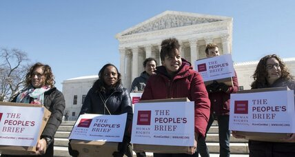 Diverse groups tell Supreme Court they support same-sex marriage