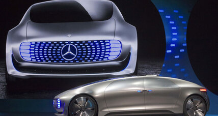 Mercedes-Benz F015 promises a luxurious future for self-driving cars