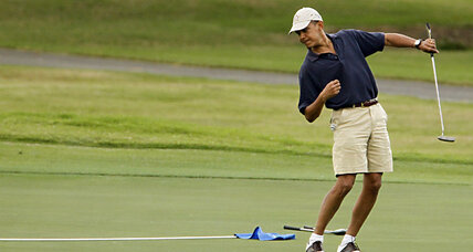 President Obama on weekend 'golf buddies' trip in Florida