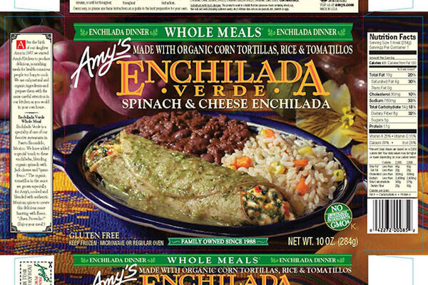 Amy\'s Kitchen and Wegmans recall frozen spinach products for ...