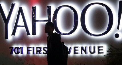 Yahoo: Forgot your password? No problem, just don't lose your phone.