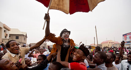 Nigerians celebrate Buhari's win, challenges emerge