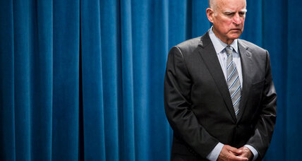 California drought or dream? Jerry Brown at a hinge of Golden State history. (+video)