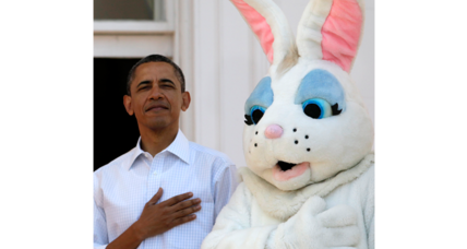 Obama and family attend Easter service at historic Baptist church