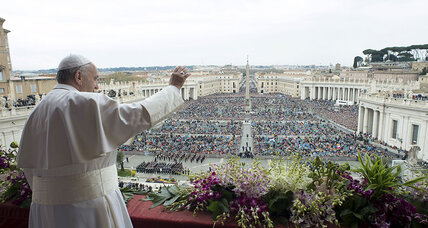 In Easter address, Pope Francis prays for end to persecution of Christians