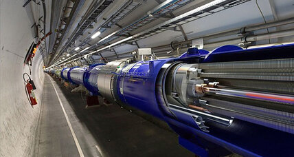 Dormant for two years, the world's largest atom smasher reawakens