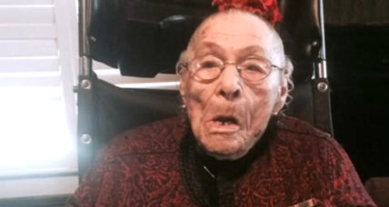 Gertrude Weaver dies after 6-day reign as world's oldest person