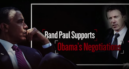 Rand Paul presidential bid immediately hit with attack ad