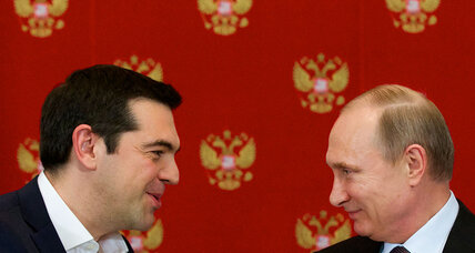A 'special relationship' between Greece and Russia?