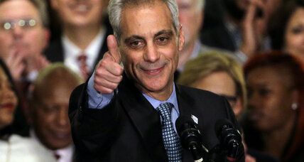 Chicago's Rahm Emanuel, victorious, now faces $550 million pension shortfall