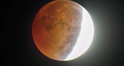 Saturday to bring brief 'blood moon'