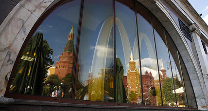 A Russian rival to McDonald's? New chain aims at the arches.