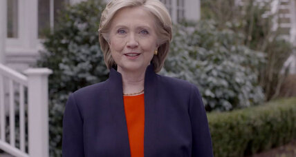 Hillary Clinton vows to work for 'everyday Americans,' perhaps 'hardworking Americans,' too (+video)